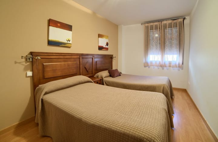 Apartamentos Rurales Sierra de  Gudar - Apartamento 2 habitaciones (6 personas máximo).  - Descuento 10% Estancia mínima de 3 Noches