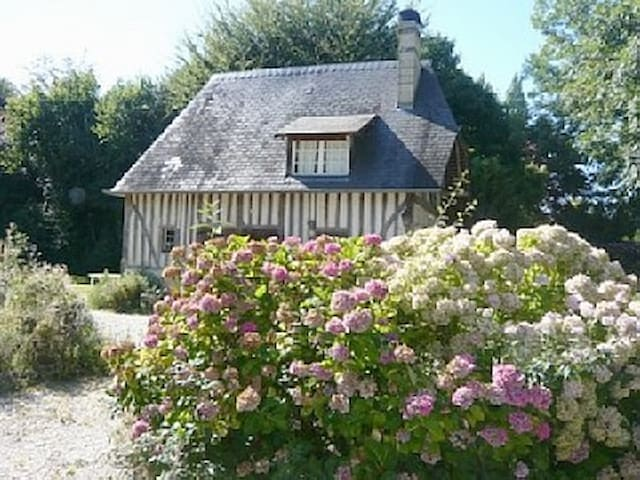 Charming 17th c cottage in Normandy - Branville - Dům