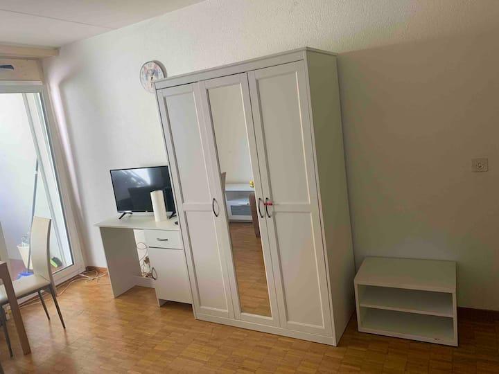 Studio meublé à Lausanne