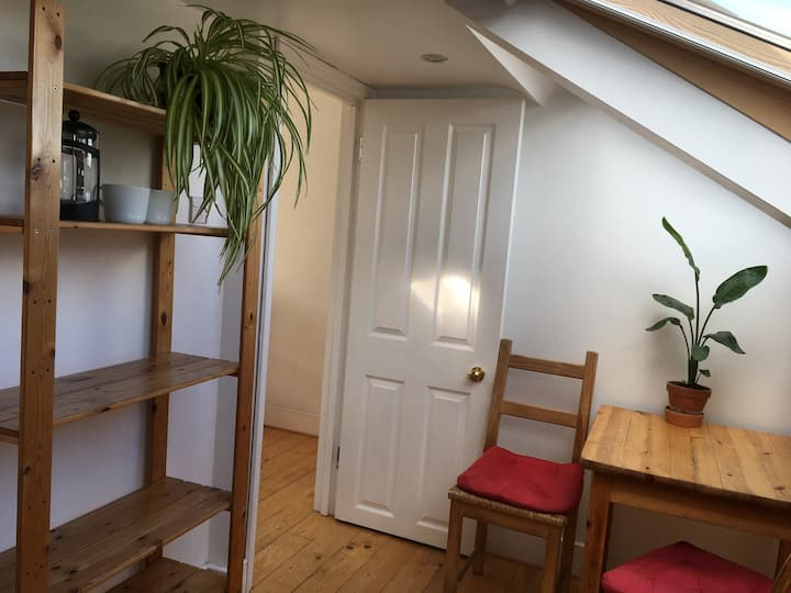 Light, quiet attic space in Muswell Hill