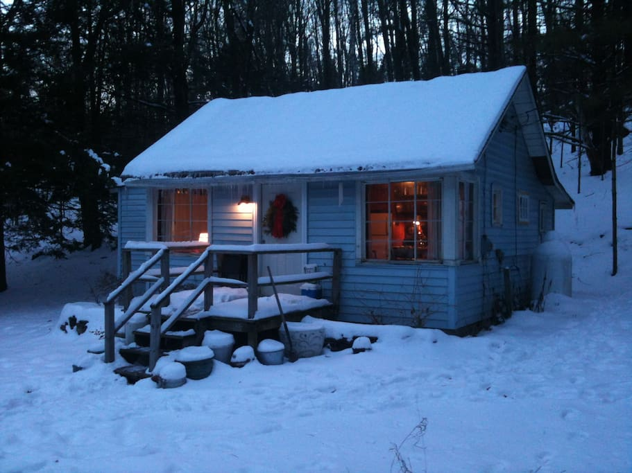 Cozy cabin in the catskills cabins for rent in for New york cabin
