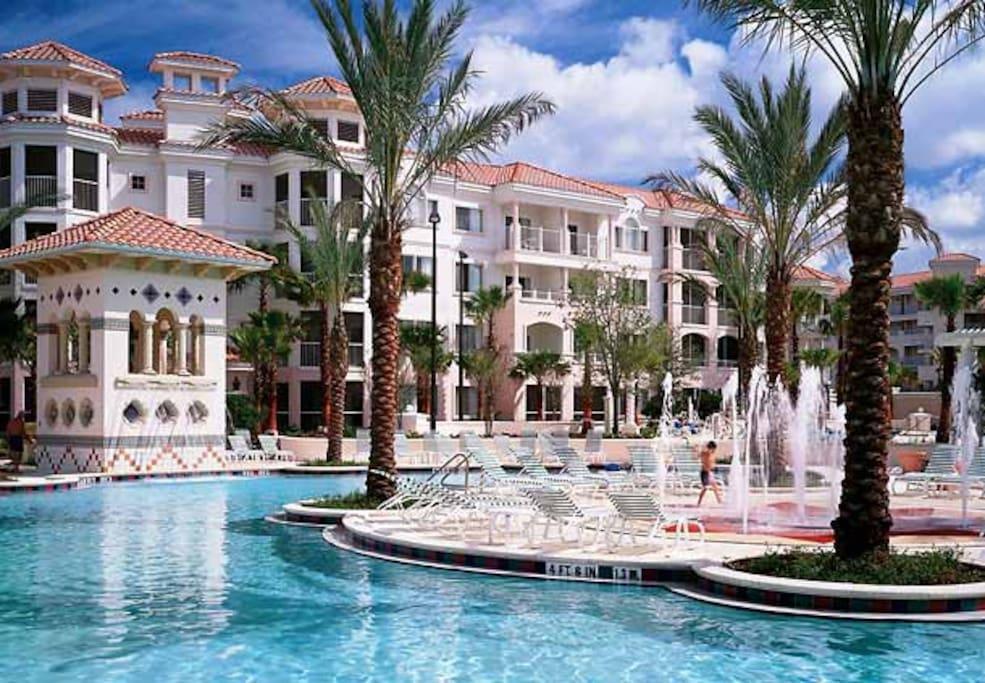 Luxe Condo Marriott Hotel Disney Fl Apartments For Rent