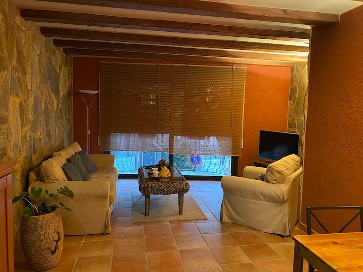 Apartament -loft en Caldes de Malavella - Centre .