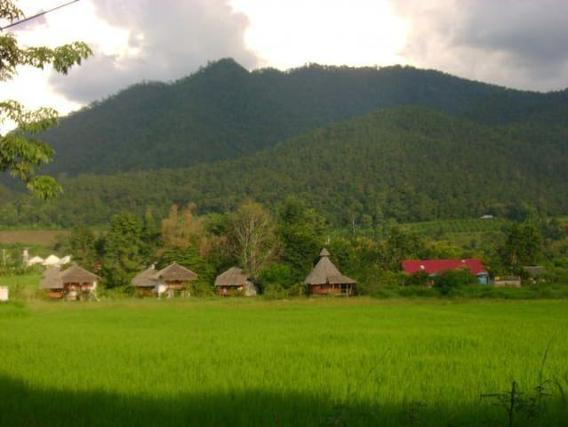 Amazing Views Thai Style Bungalow 1 - Pai - Skur