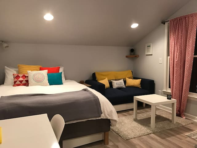 Carriage House studio in the heart of Decatur - Decatur - Apartemen