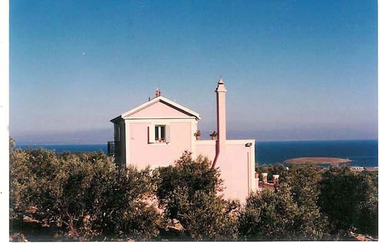 LESVOS ISLAND-Unique Villa - Pamfila - Willa