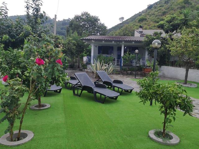 Villa Cilento Mare, bellissima con ampio giardino