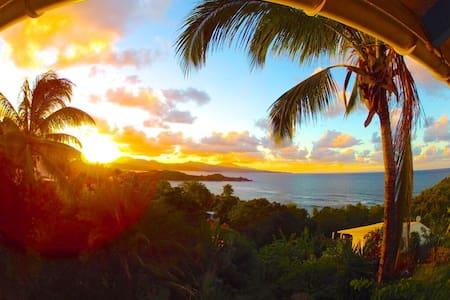 Studio frangipani confort vue sur mer - La Trinité - Villa