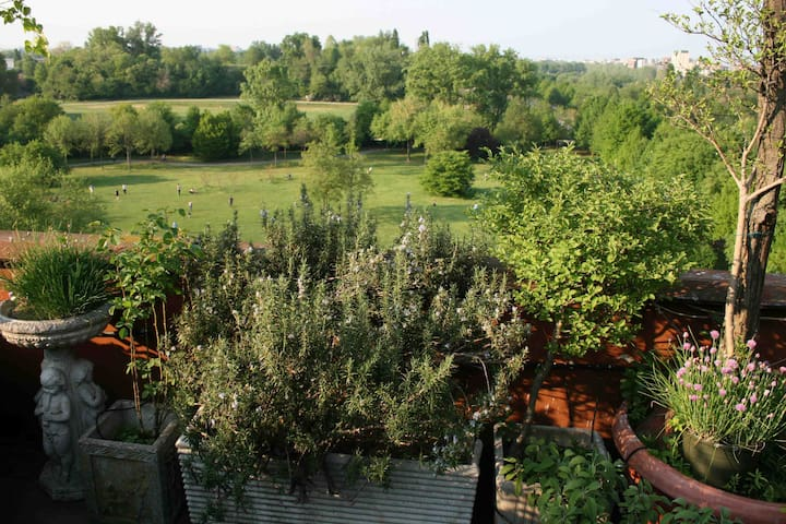 Milan - a Greenhome in a park - Milano - Apartment