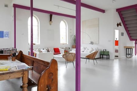 Unique and Inspiring Designer Converted Chapel