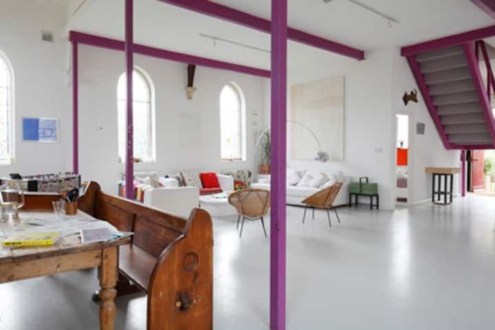 Unique and Inspiring Designer Converted Chapel