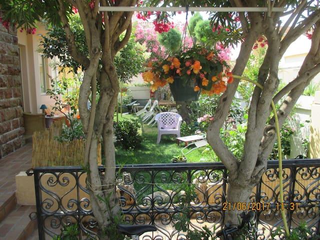 Chambre privée, maison jardin à dispo cadre unique