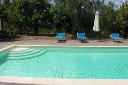 Apartment with pool in Sorrento!