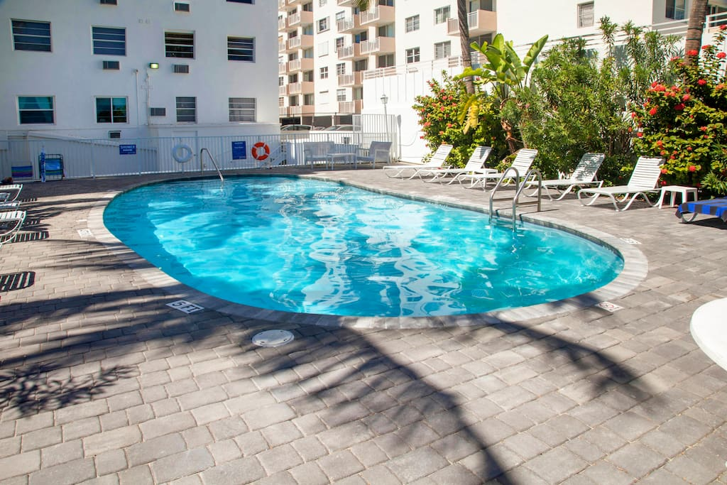 Your stay features access to a shared pool.