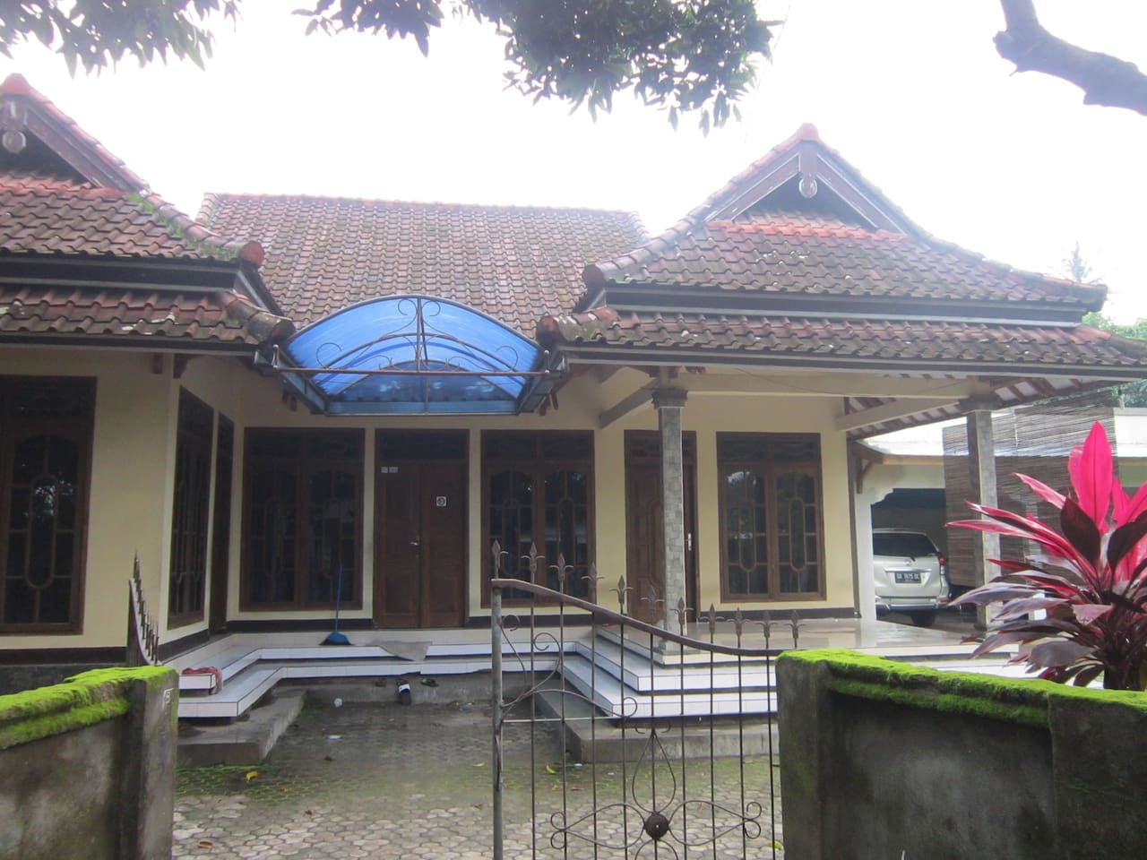 This is the main entrance of the house.