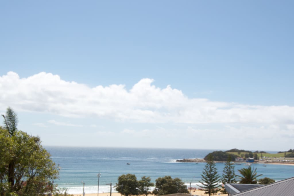 View from Terrigal Beach House