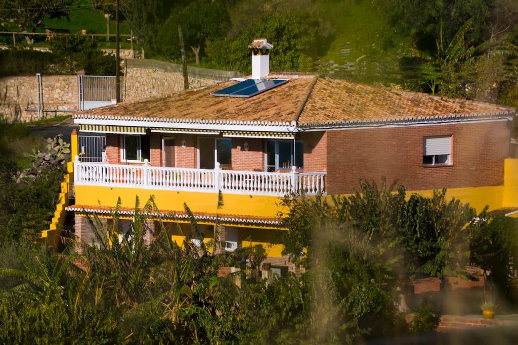 La casa con terraza grande   The house with huge terrace