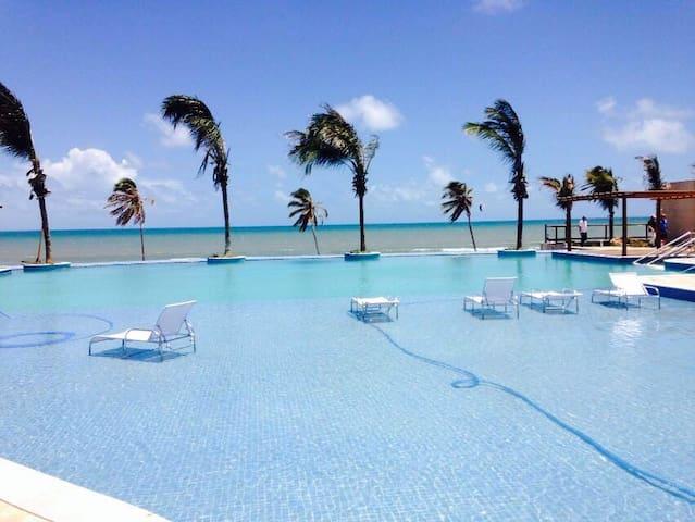 Kitesurf Paradise! Beach Front! CUMBUCO - Caucaia - Appartement