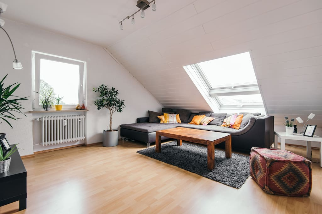 Spacious apartment in good location free parking for Wohnlandschaft 3m