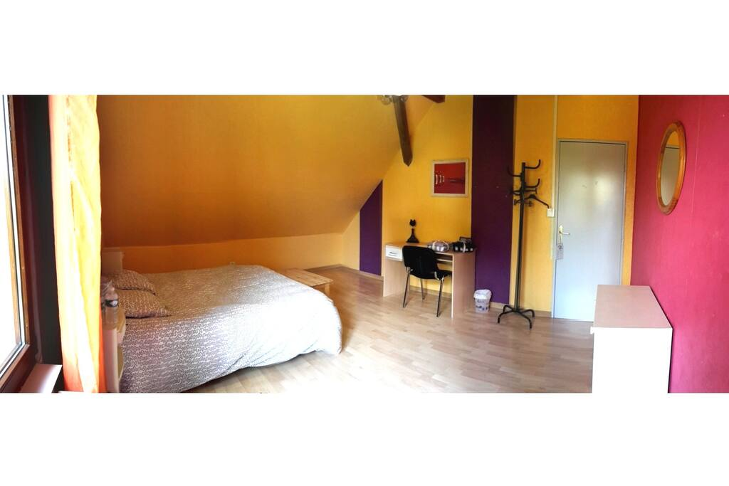 La chambre Chèvrefeuille - Honeysuckle room