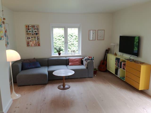 Cozy semi-detached house near Copenhagen