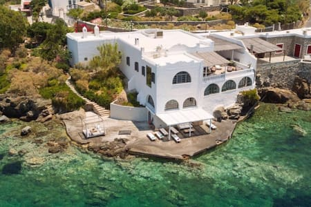 Villa Poseidonia, Seafront Villa