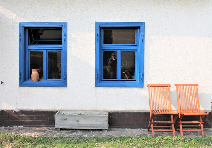 Blue Room for two at Chalúpka - The Cottage
