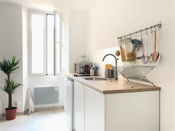 Charming studio in the heart of Sanary-Sur-Mer