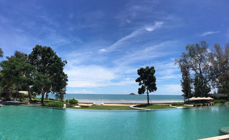 Endless Vacation at Khaotao beach - Amphoe Hua Hin - Apartemen