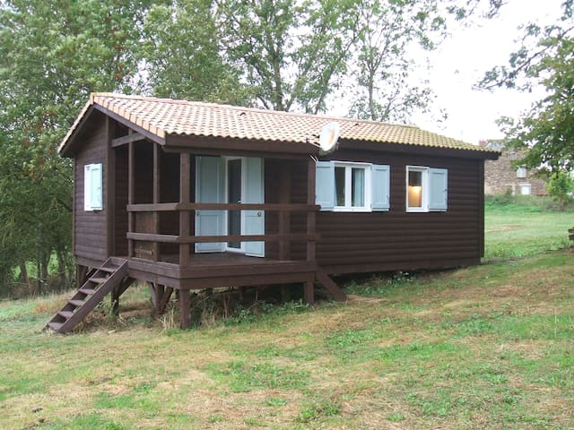 Nightingales cute, quiet cabin - Mirandol-Bourgnounac - Kabin