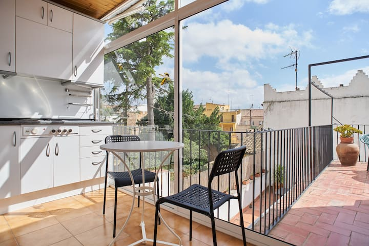 Flat in the center of Vilafranca