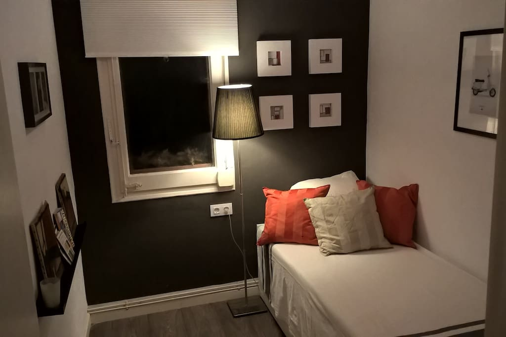 Habitacion recien redecorada =)