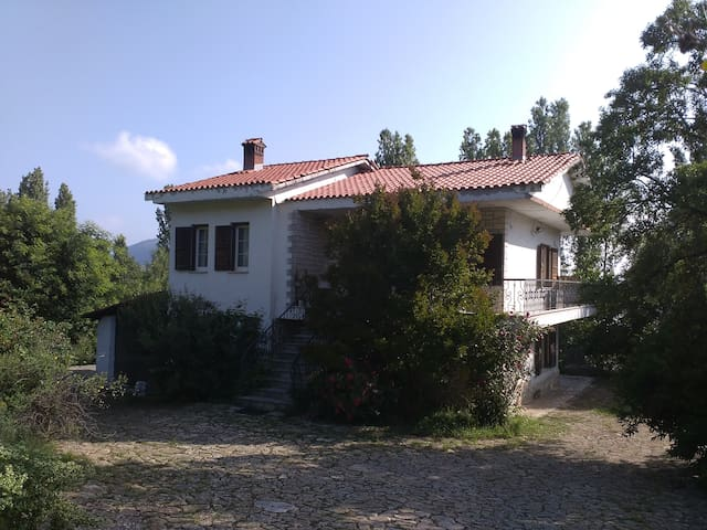 A Villa by the Lake