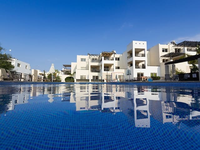 Paralimni apartment with view