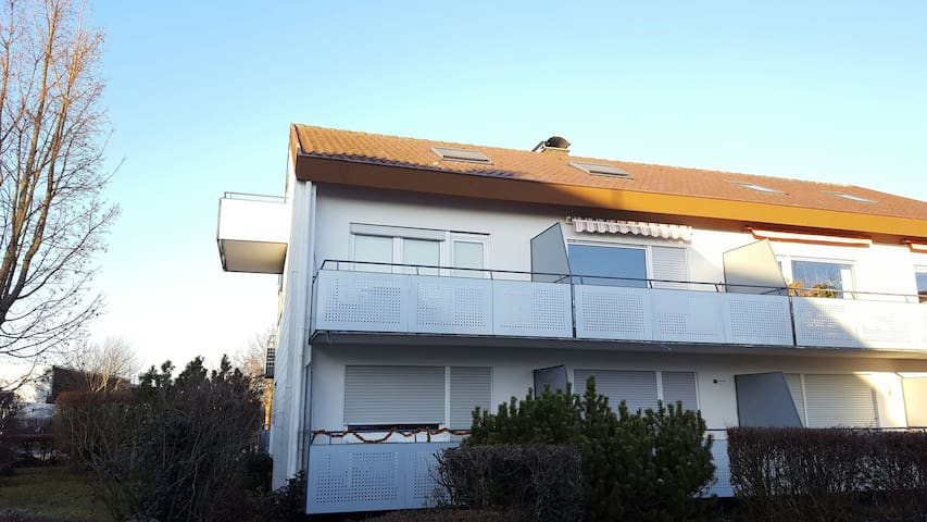 Gemütliche Bodensee Wohnung in LG - Langenargen - Appartamento
