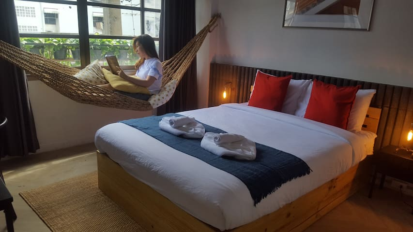 Loft and Modern Room with 5* Comfort