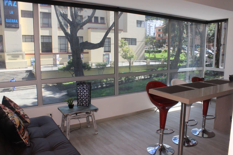 Ofrecemos un espacio NUEVO! acogedor, moderno, lleno de luz y tranquilidad!