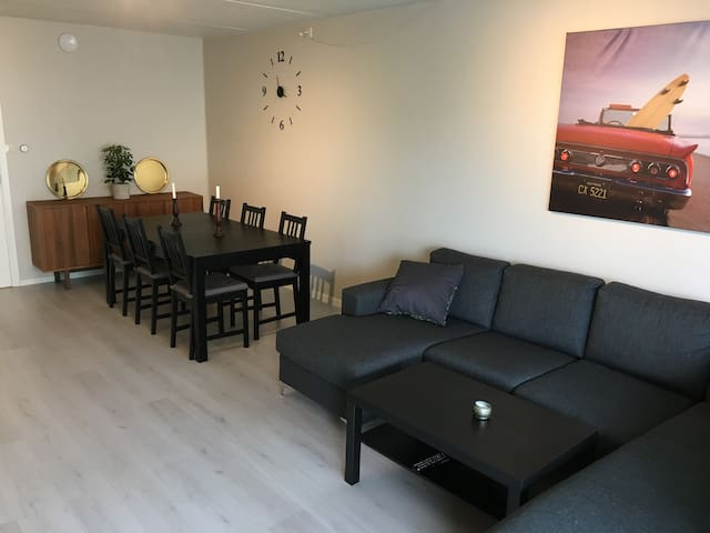 Appartment 10 min from Bergen City w/ parking