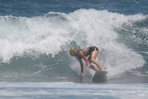 Young Local surf talent