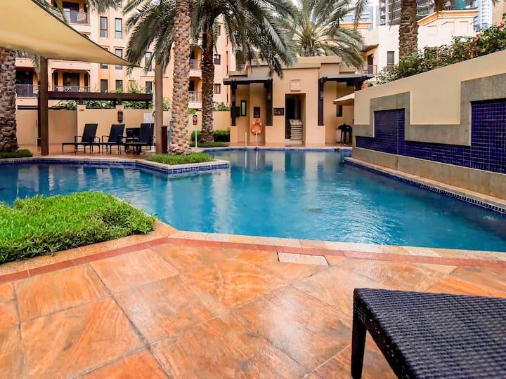 Sale! Well-Furnished 1BHK Home near Burj Khalifa