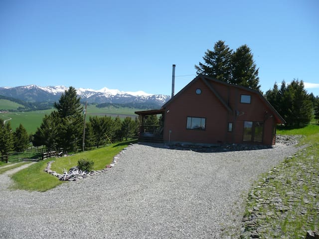 Mountain Home Livingston/Bozeman - Wilsall - Cabin