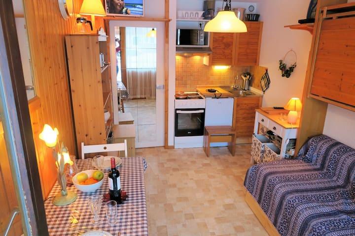 VAL D'ISERE - Studio 17 m² pour 2 personnes