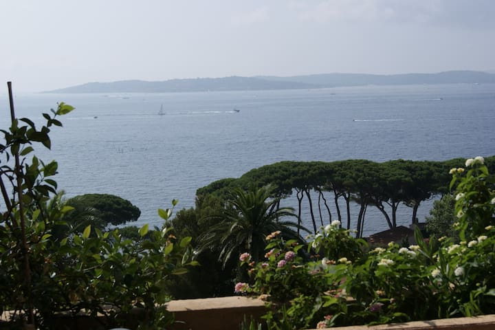 Gorgeous view over bay of St Tropez