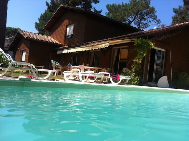 Villa with garden, pool and bbq ! - Arcachon - Villa