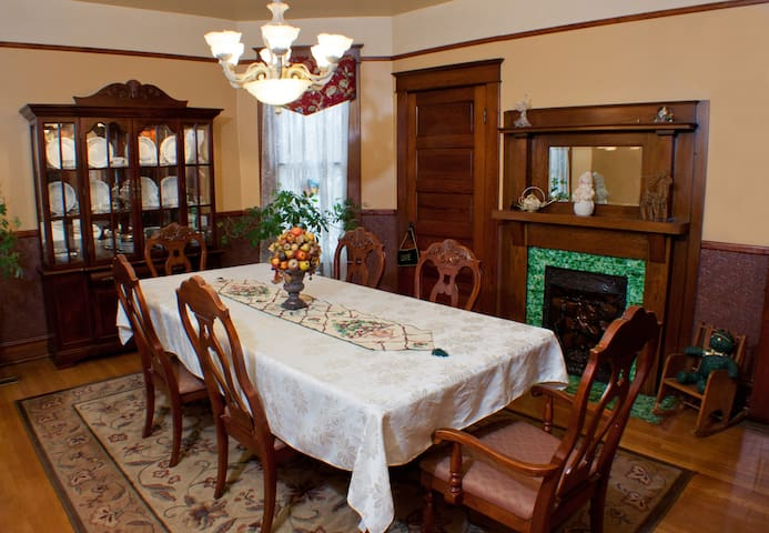 The dining room where breakfast is served.