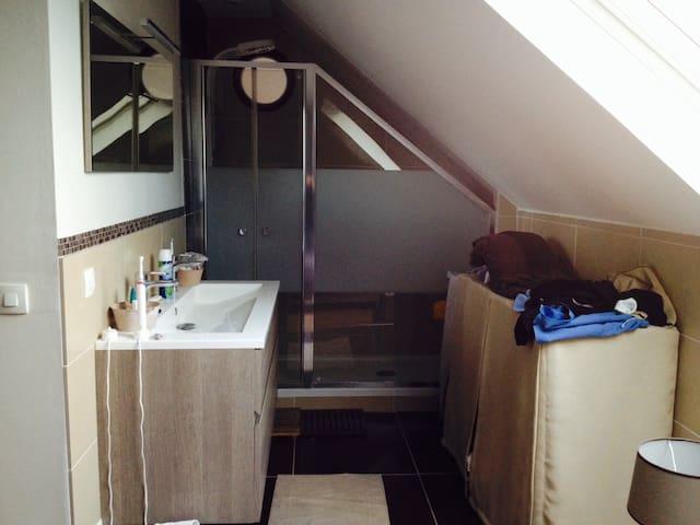 Chambre pour l euro - Meyzieu - Apartamento