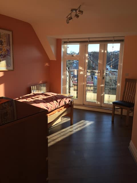 Penthouse spacious room N144JN to kingsx in 24 min