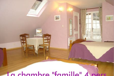 Family Room   in moutain pyrénées - Aquitaine - Bed & Breakfast