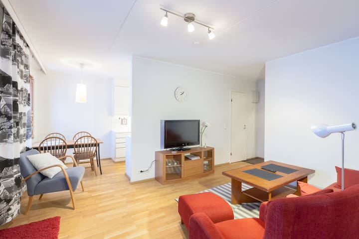 Comfortable 2-room apartment. - Espoo - Apartamento