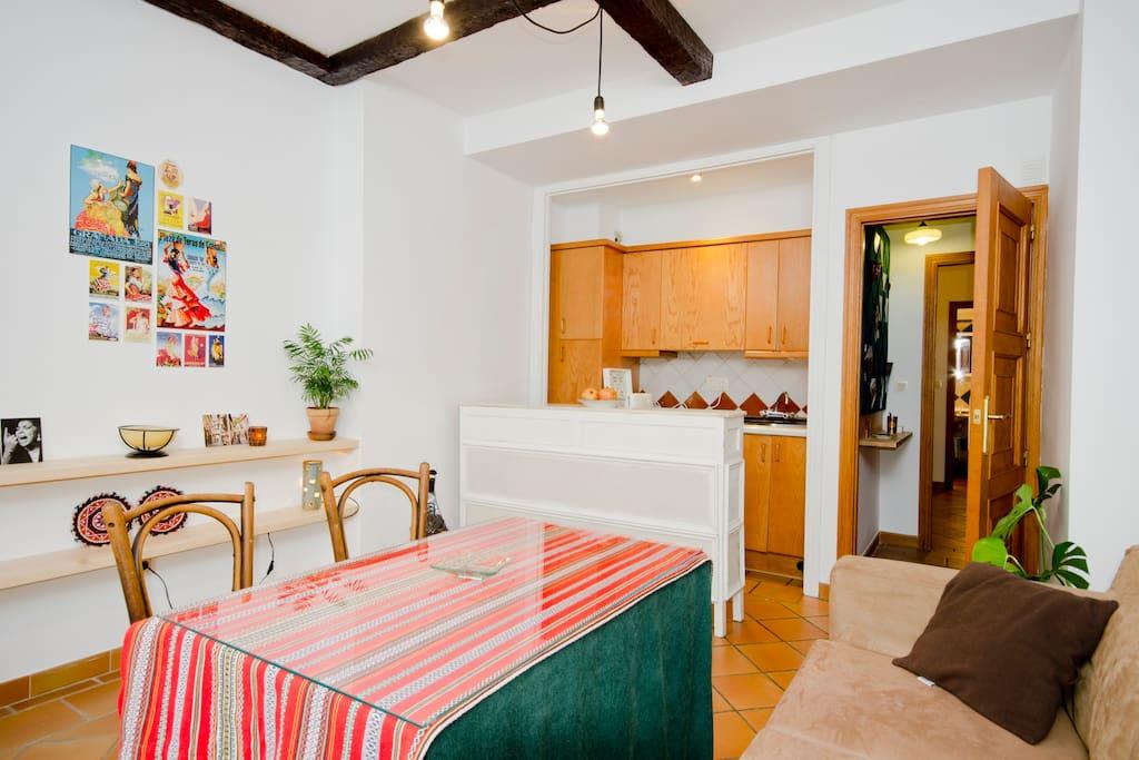 Apartment in the heart of Granada